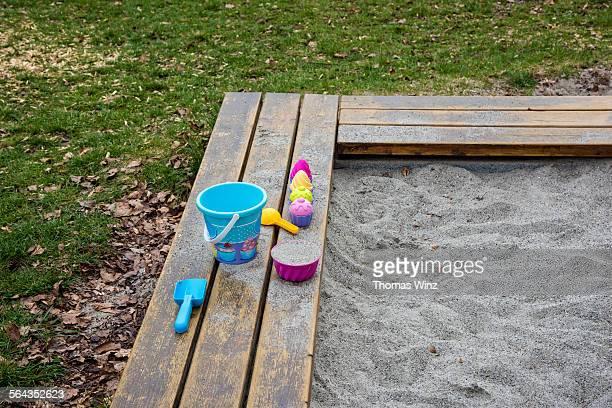 Childrens sand box