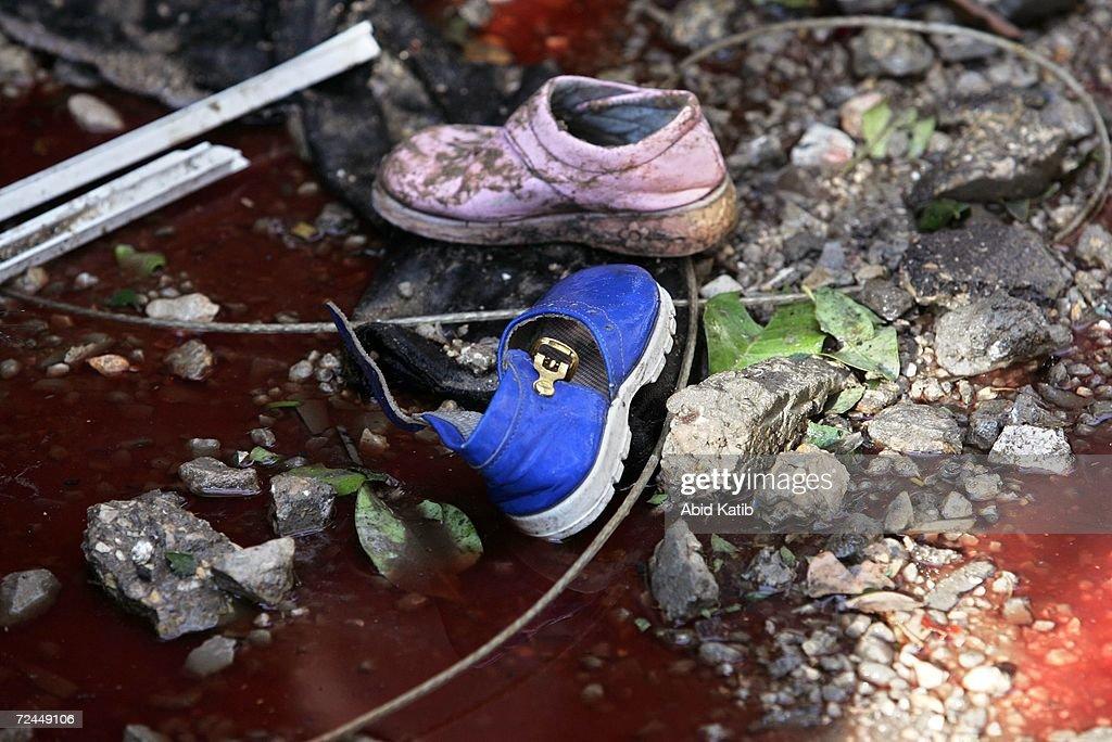 Israeli Shelling Kills 18 In Beit Hanoun : News Photo