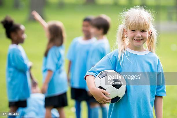children's soccer league - fat soccer players foto e immagini stock