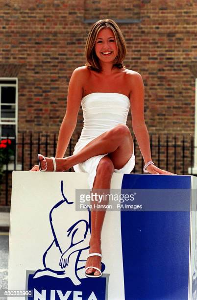Children's television presenter Cat Deeley poses for the media during a photocall in London after being named Nivea Body of the Year 1999 Cat emerged...