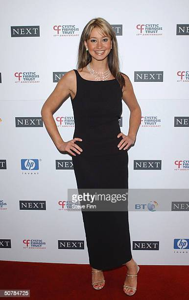 Children's television presenter Ellie Crisell attends the Cystic Fibrosis Trust Breathing Life Awards honoring youngsters suffering with the disease...