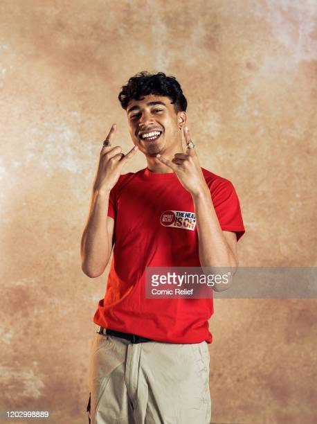 Children's television presenter Karim Zeroual poses for the camera to promote the sport relief challenge The Heat is On in which he will join the...