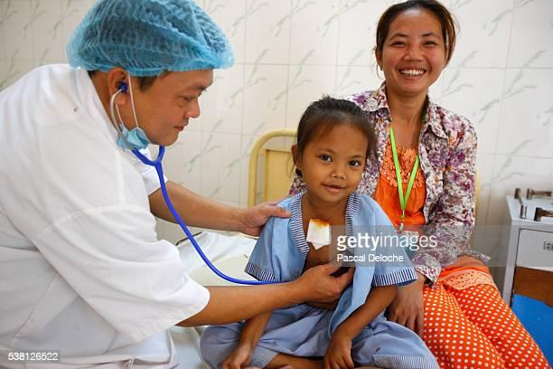 Children's ward in Phnom Penh cardiac hospital