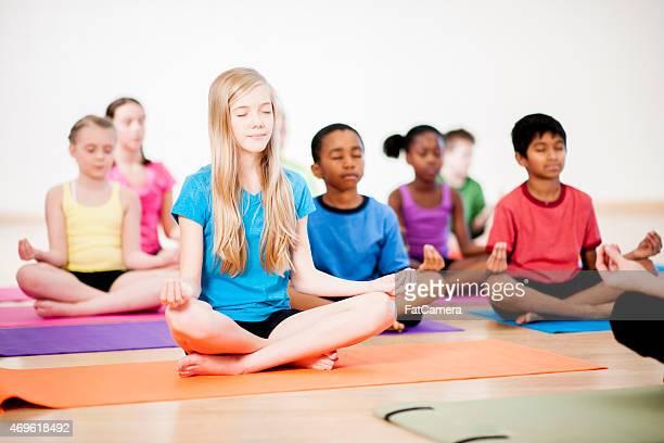 Childrens clase de Yoga
