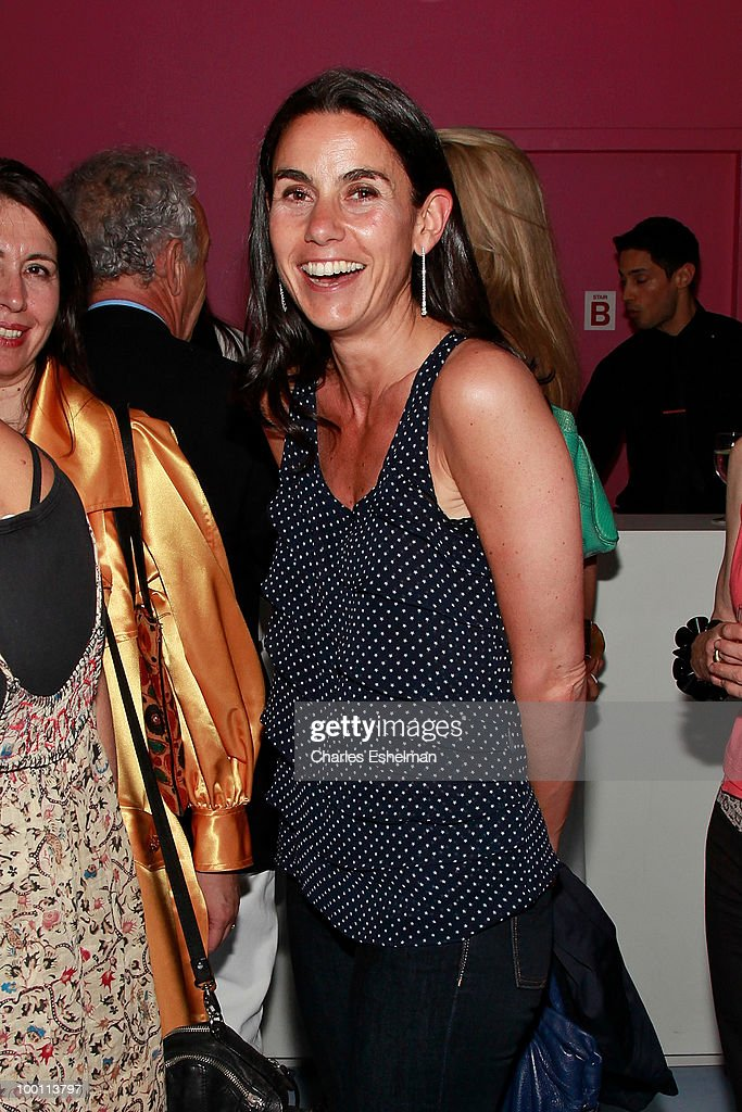 Children's-book author Charlotte Sarkozy attends the reception after the screening of 'The Making of 'Last Year at Marienbad' hosted by Diane von Furstenberg and Bernard-Henri Levi to benefit La Maison Francaise at New York University at Diane Von Furstenberg Gallery on May 20, 2010 in New York City.