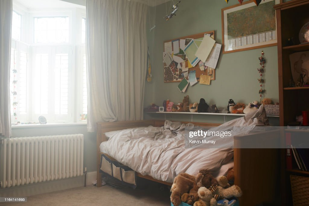 A childs bedroom : Stock Photo