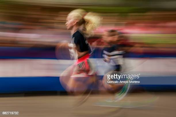 Childs compete during the Iron Kids the day before of the Ironman 703 Pays d'Aix on May 13 2017 in AixenProvence France