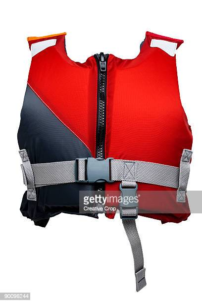 child's life vest / buoyancy aid / jacket - life jacket stock pictures, royalty-free photos & images