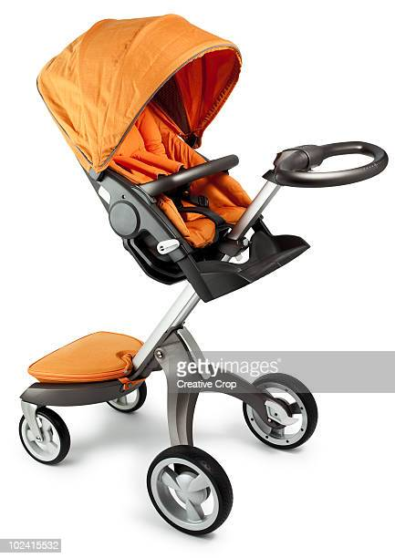 Child's pram with seat attachment