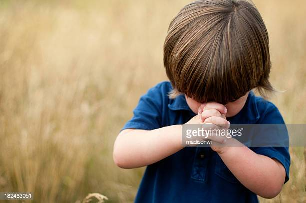 child's prayer - religion stock pictures, royalty-free photos & images