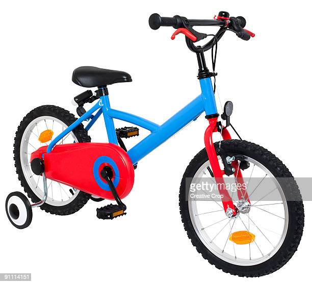Child's push bike, with stabilisers