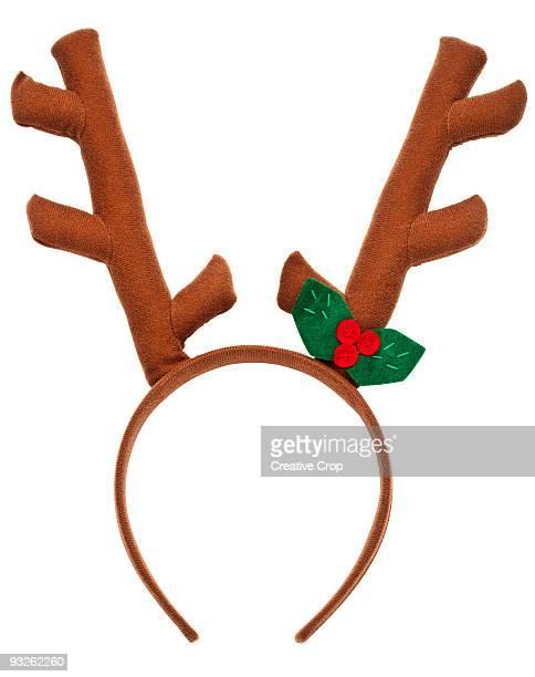 Child's reindeer felt antlers