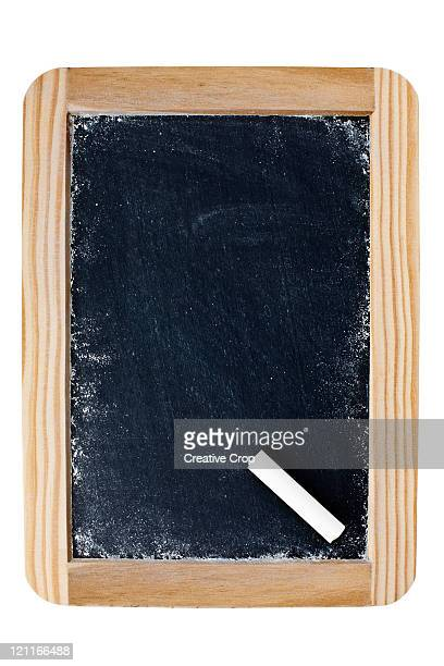 Childs small blackboard with wooden frame