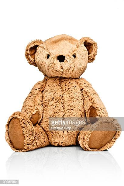 child's teddy bear - stuffed toy stock pictures, royalty-free photos & images