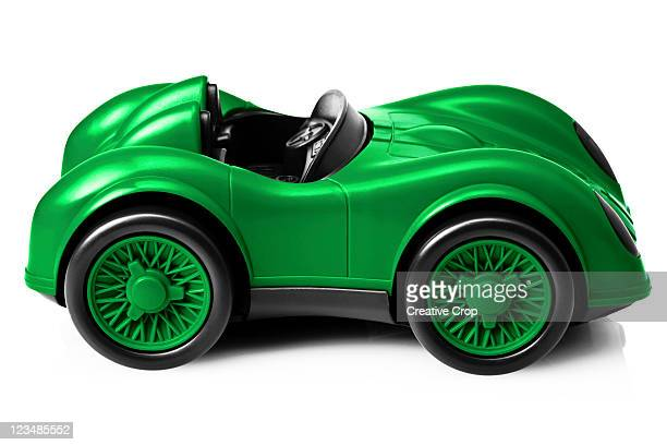 Childs toy racing car