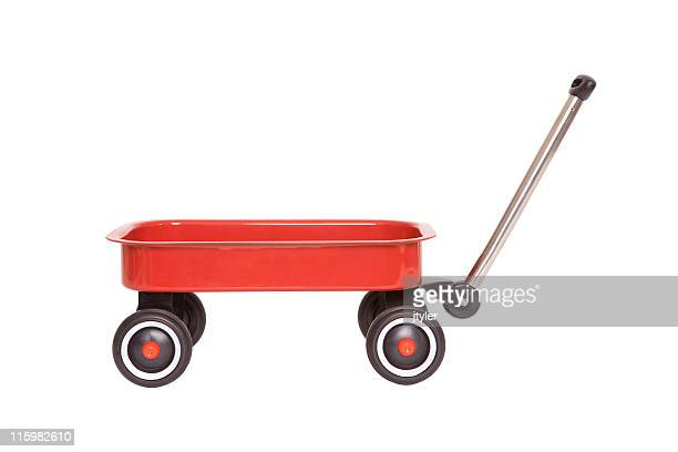 child's wagon - toy wagon stock photos and pictures