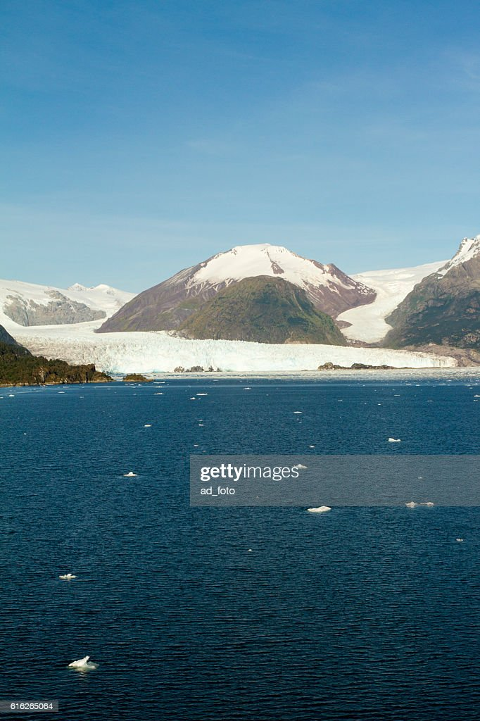 Chile - Amalia Glacier Landscape : Stock Photo
