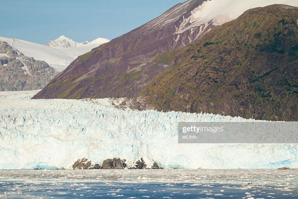 Chile - Amalia Glacier Landscape : Stock Photo