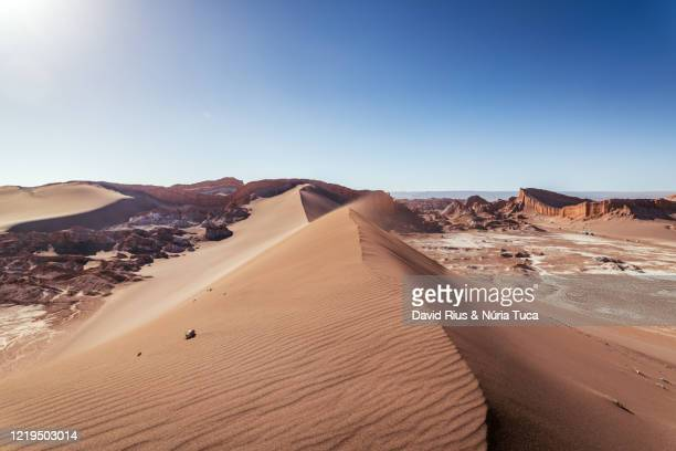 chile, antofagasta region, atacama desert, valle de la luna - chile stock pictures, royalty-free photos & images