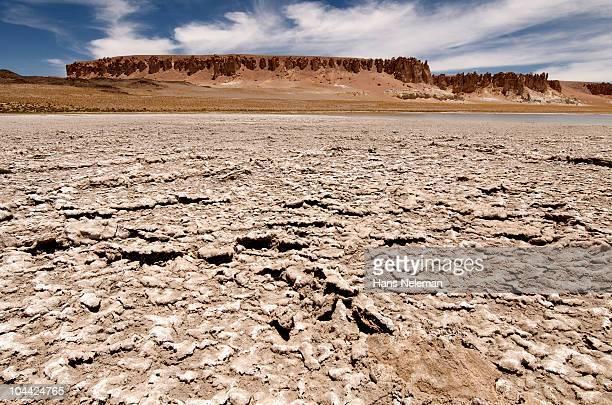 Chile, Atacama, (Tara salt flat), desert rocks