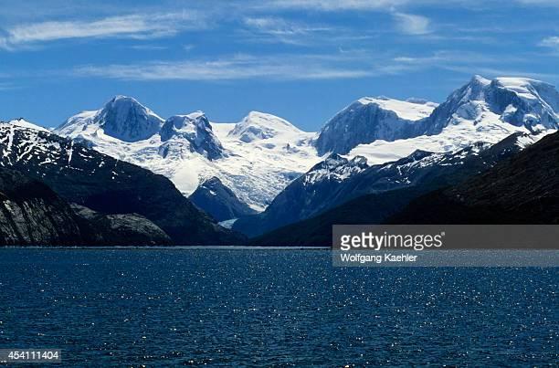 Chile Beagle Channel View Of Tierra Del Fuego Glaciers