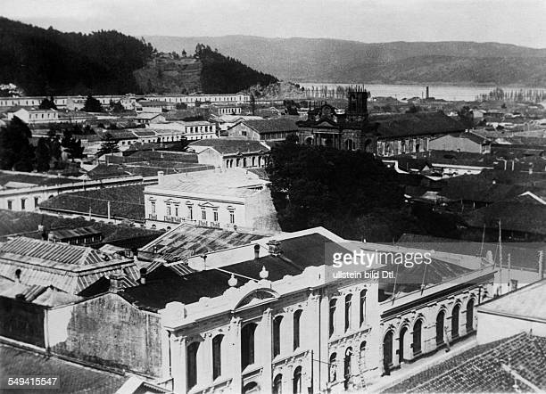 Chile Concepcion view of the city 1932 Photographer Sennecke Vintage property of ullstein bild