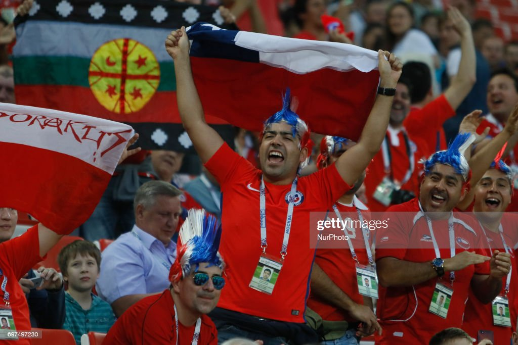 Cameroon v Chile: Group B - FIFA Confederations Cup Russia 2017 : Nachrichtenfoto