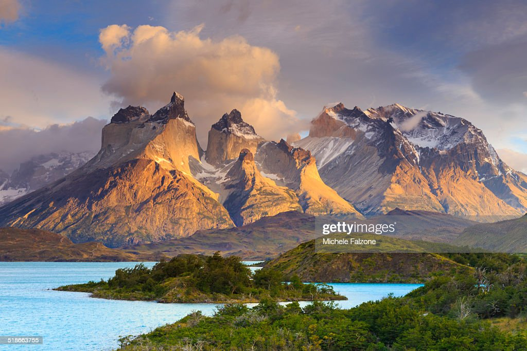 Chile, Patagonia, Torres del Paine National Park : Stock-Foto