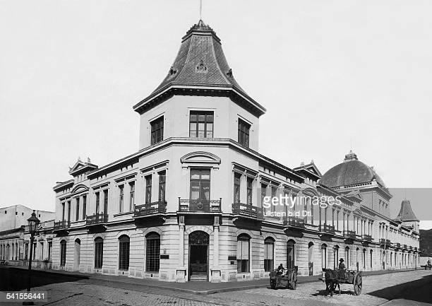 Chile Region del BioBio Concepcion German imperial consulate 1900Vintage property of ullstein bild