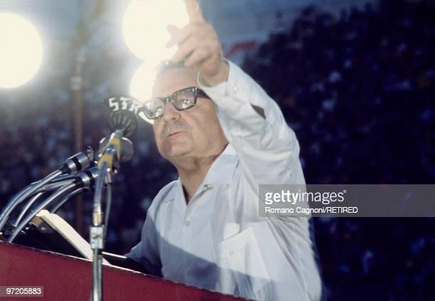 Chile Santiago President Salvador Allende