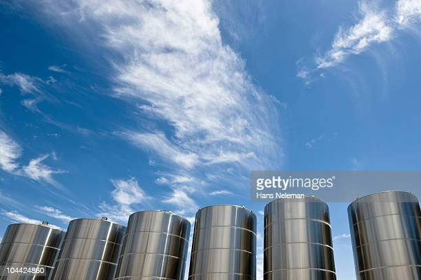 Chile, Santiago, Stainless Steel tanks