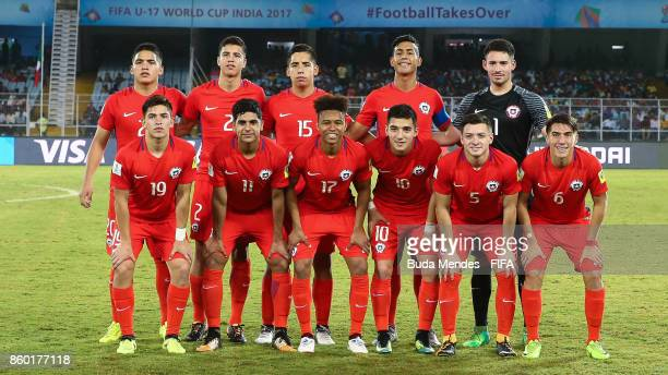 Chile Team Line Up For Team Photo Before The Fifa U World Cup India  Group