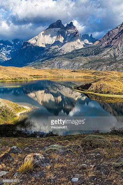 Chile, Torres del Paine National Park, Cordillera del Paine