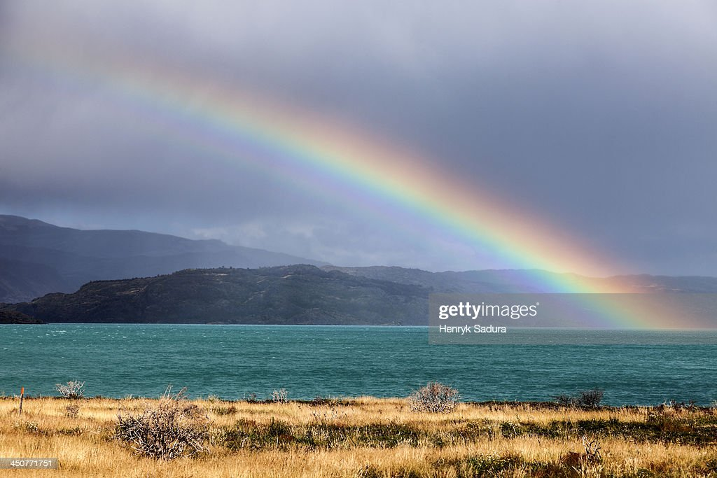Chile, Torres del Paine National Park, Lake Pehoe : Stock Photo