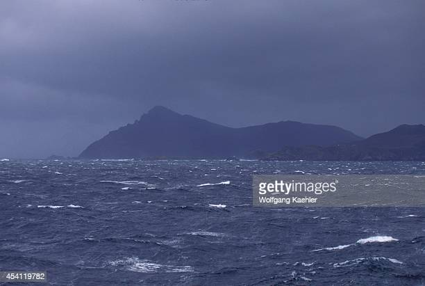 Chile View Of Cape Horn Rough Seas
