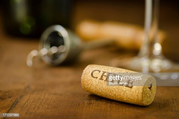 Chile Wine Cork Horizontal
