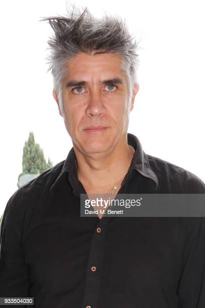Chilean architect Alejandro Aravena poses at an afternoon tea held at the residence of Fernando Romero and Soumaya Slim during day one of the...