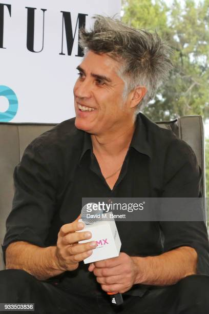 Chilean architect Alejandro Aravena speaks onstage during day one of the Liberatum Mexico Festival 2018 at Castillo de Chapultepec on March 16 2018...