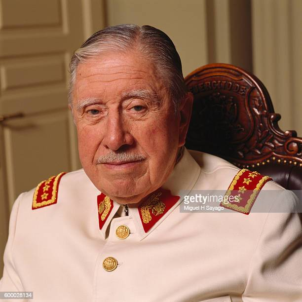 Chilean dictator, Army General and President of the military junta from 1973 to 1981 Augusto Pinochet.