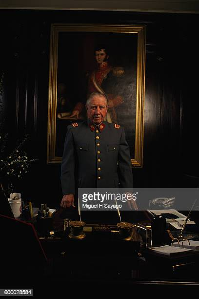 Chilean dictator Army General and President of the military junta from 1973 to 1981 Augusto Pinochet