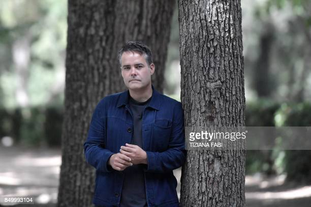 Chilean film director Sebastian Lelio poses during a photo session as part of a photocall of his movie 'A fantastic woman'' on September 20 in Rome /...