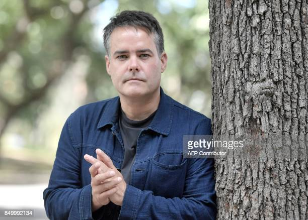 Chilean film director Sebastian Lelio poses during a photocall for his movie A fantastic womanon September 20 2017 in Rome / AFP PHOTO / TIZIANA FABI