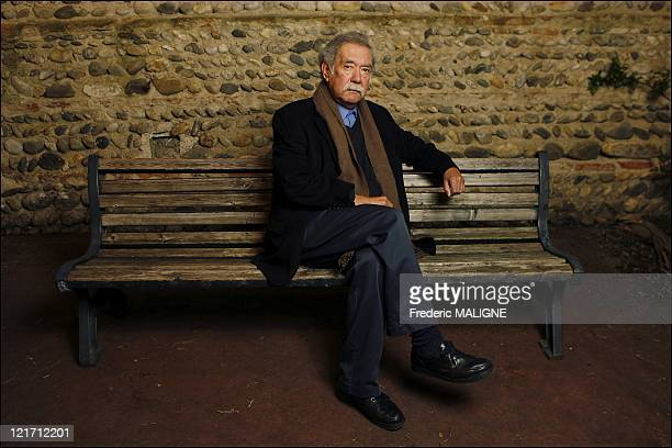Chilean filmmaker Raoul Ruiz poses during a portrait session on March 08 in Toulouse France