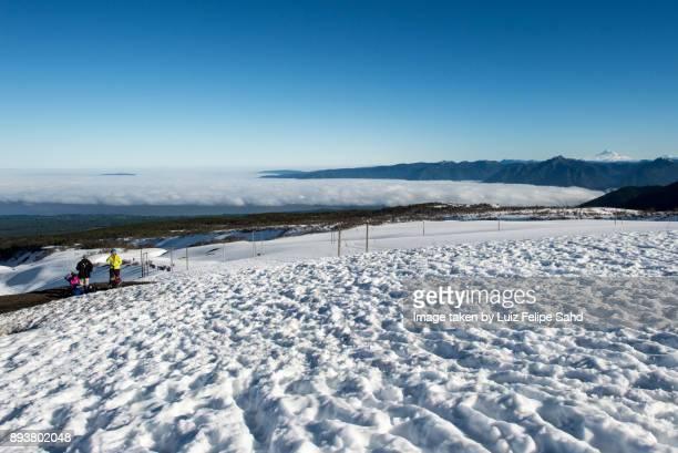 chilean landscape - pucon fotografías e imágenes de stock
