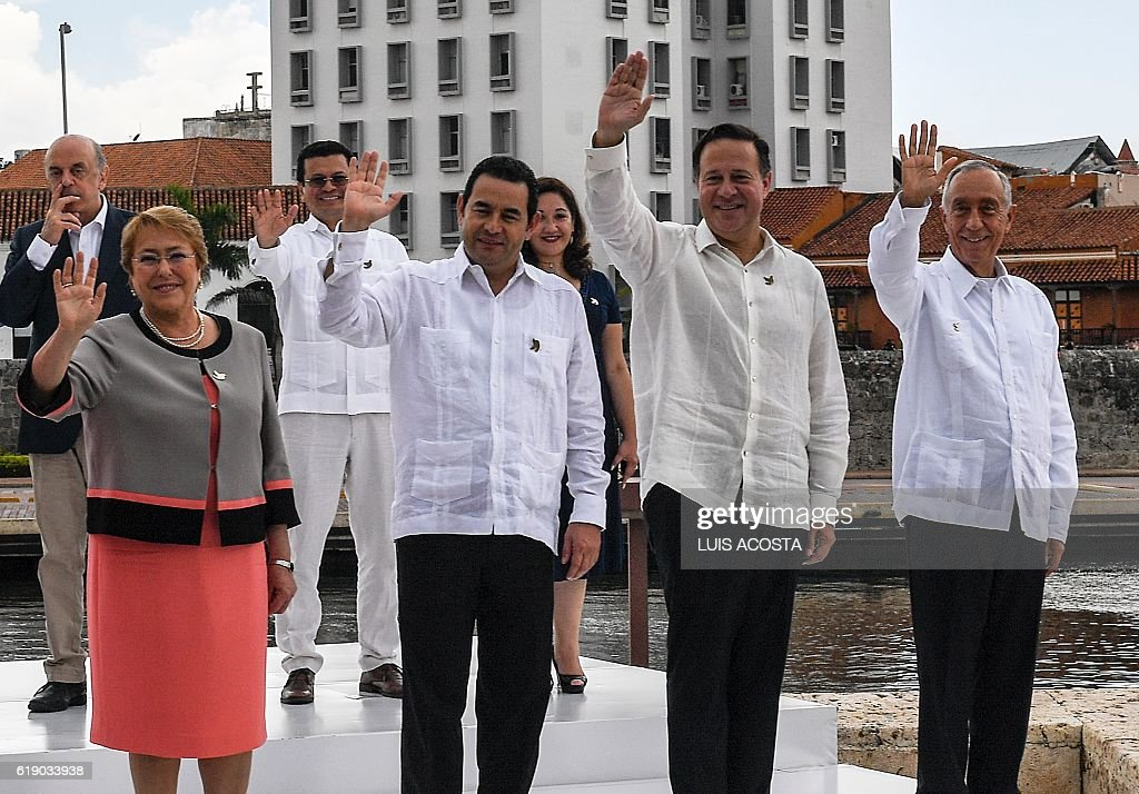 COLOMBIA-IBERO-AMERICAN-SUMMIT : News Photo