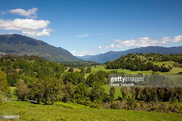 Chilean Seven Lakes district