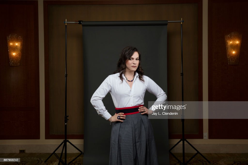 Chilean transgender actress Daniela Vega is photographed for Los Angeles Times on November 7, 2017 in Los Angeles, California. PUBLISHED IMAGE.