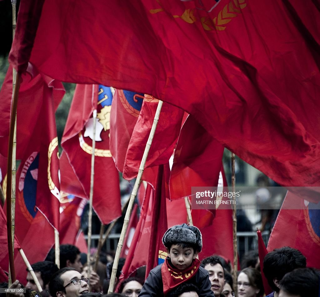 CHILE-MAYDAY-PROTEST : News Photo