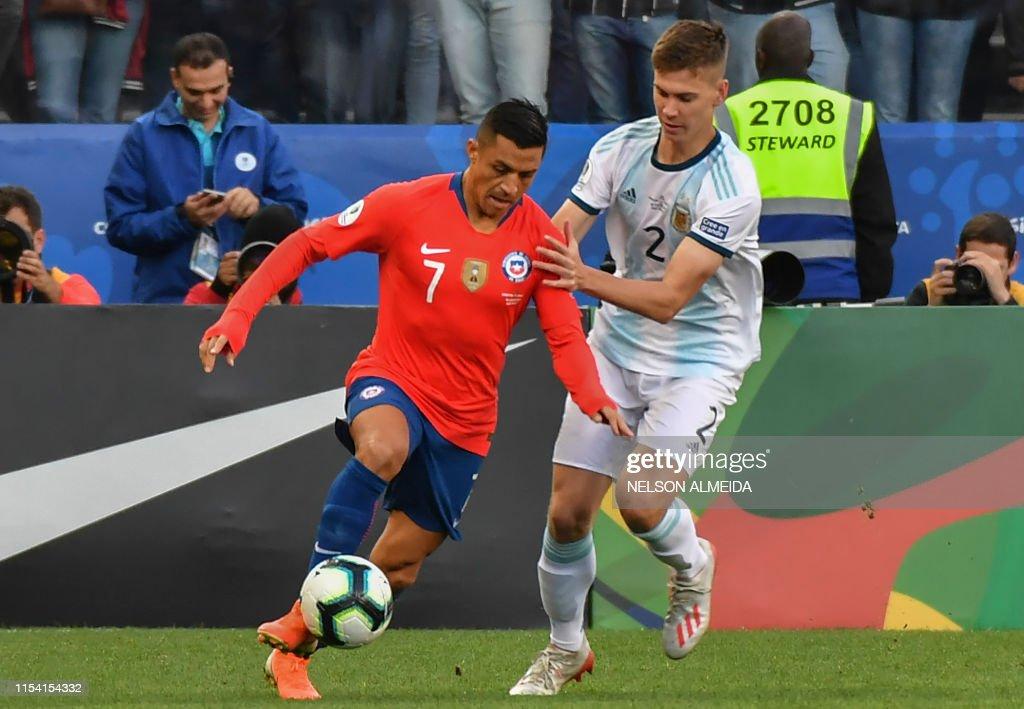 FBL-COPA AMERICA-2019-ARG-CHI : News Photo