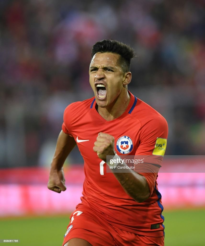Good Chile World Cup 2018 - chiles-alexis-sanchez-celebrates-after-scoring-against-ecuador-during-picture-id858061786  Collection_935142 .com/photos/chiles-alexis-sanchez-celebrates-after-scoring-against-ecuador-during-picture-id858061786
